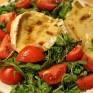 Sałata Rukola z serem camembert